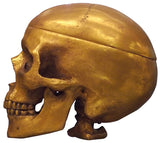 Skull and Box in one <BR> 7.25H   7.25D 5.5W