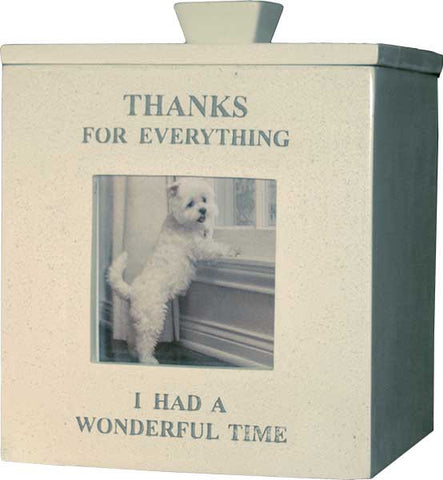 Thanks for Everything - Picture Front <BR> 7.5H x 6W x 8D