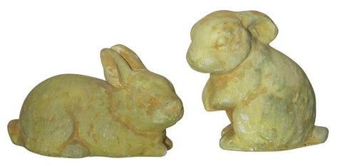Bunnies.  They're not just for Easter anymore <BR> 3H x 5L&5H x 3W
