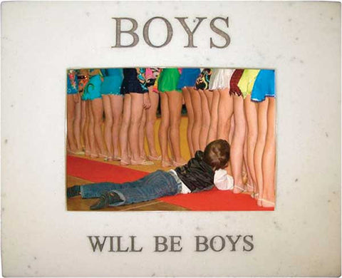 Boys Will Be Boys <BR> 7.75W x 6.25H x .5D