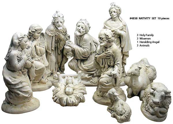 Nativity Scene (10 Piece)