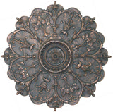 8 Point Medallion with Rosette <BR> 29H x 29W x 1.5D