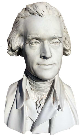 Pres. Thomas Jefferson <BR> 18H x 11W x 10D
