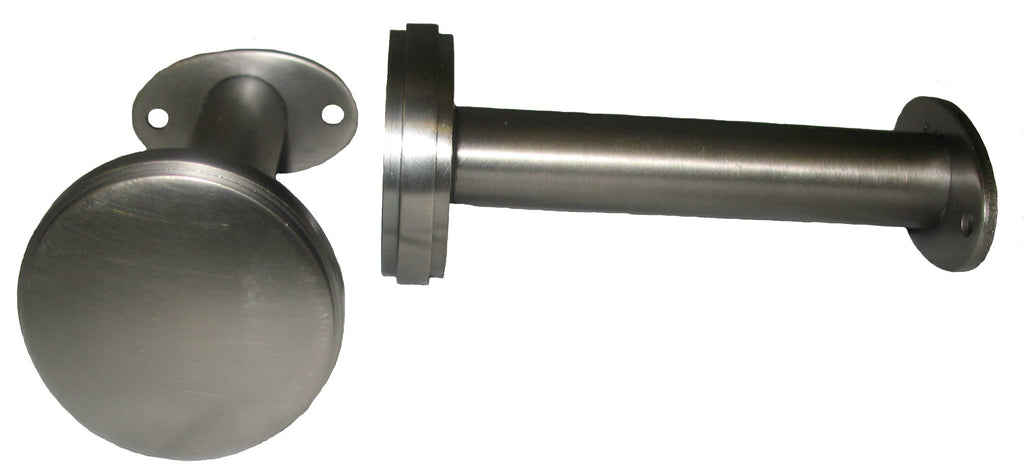 "Metal Holdback: End Cap Pair <BR>  1.9""Diameter x 4.2L"
