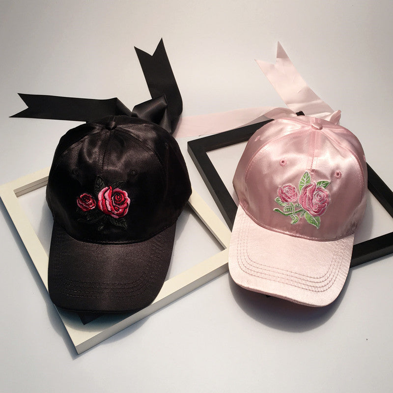 Rose Ribbon Hat