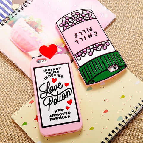Chill Pills and Love Potion Phone Case