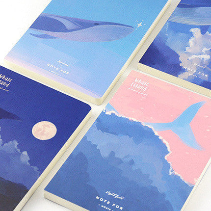 Note for Whale Minimalist Notebook