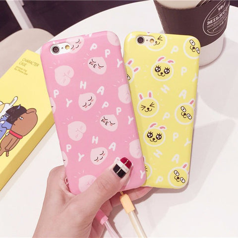 Kakao Friends Pattern Phone Case
