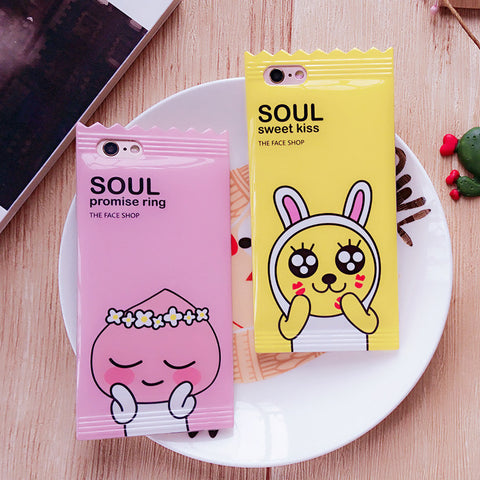 Kakao Friends Candy Wrapper Phone Case