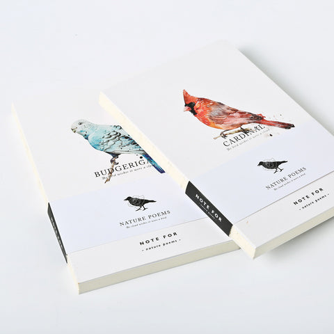 Note for Nature Poems Minimalist Notebook