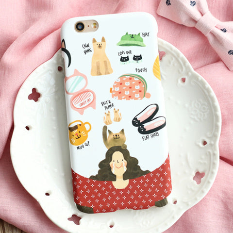 Cat Lady Phone Case