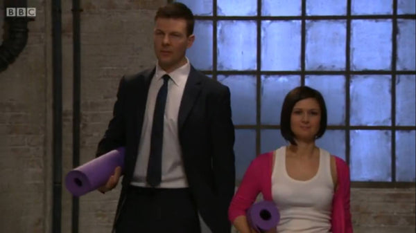Mike and I on BBC Dragons' Den