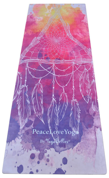 Atapa - YogaBellies® SKINNY Mat - PeaceLoveYogaShop, YogaBellies, PeaceLoveYogaMat, PeaceLoveYogaBellies, Cherylyogabelle