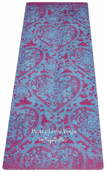 Kama - YogaBellies® SKINNY Mat - PeaceLoveYogaShop, YogaBellies, PeaceLoveYogaMat, PeaceLoveYogaBellies, Cherylyogabelle