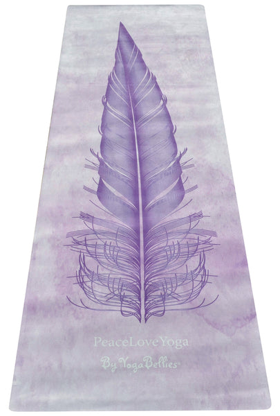 PeaceLoveYoga Mat by YogaBellies® - Serenity - PeaceLoveYogaShop, YogaBellies, PeaceLoveYogaMat, PeaceLoveYogaBellies, Cherylyogabelle
