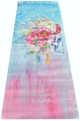 PeaceLoveYoga Mat by YogaBellies® - Sugar & Spice - PeaceLoveYogaShop, YogaBellies, PeaceLoveYogaMat, PeaceLoveYogaBellies, Cherylyogabelle