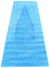 PeaceLoveYoga Mat by YogaBellies® - Ocean - PeaceLoveYogaShop, YogaBellies, PeaceLoveYogaMat, PeaceLoveYogaBellies, Cherylyogabelle