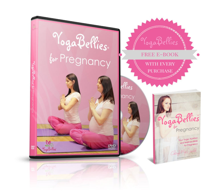 YogaBellies for Pregnancy Deluxe E-Kit - PeaceLoveYogaShop, YogaBellies, PeaceLoveYogaMat, PeaceLoveYogaBellies, Cherylyogabelle