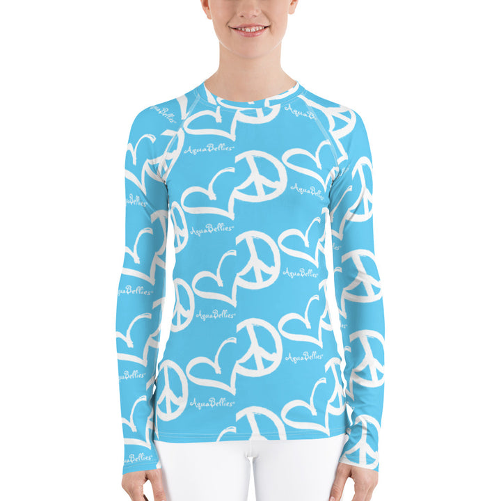 AquaBellies Women's Rash Guard