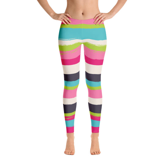 Candy Leggings - PeaceLoveYogaShop, YogaBellies, PeaceLoveYogaMat, PeaceLoveYogaBellies, Cherylyogabelle