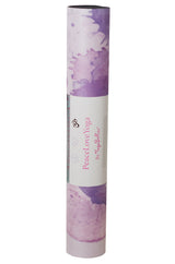 Atapa - PeaceLoveYoga Mat by YogaBellies® - PeaceLoveYogaShop, YogaBellies, PeaceLoveYogaMat, PeaceLoveYogaBellies, Cherylyogabelle