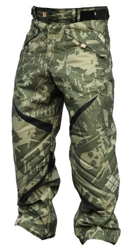 Laysick 411 Lite Paintball Pants Militia