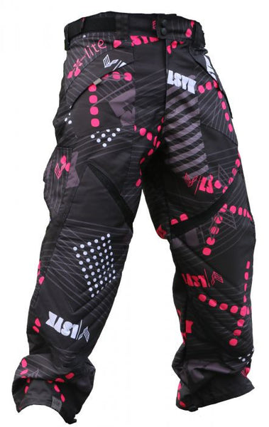 Laysick 411 Lite Pants Pink Stripe