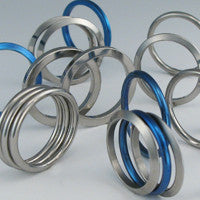Titanium Stackable Rings