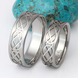 Celtic Wedding Ring Set