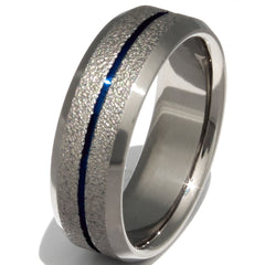 Custom Frost Titanium Ring