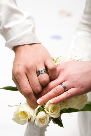 Titanium Rings Studio Customer Wedding Ring Picture - 2