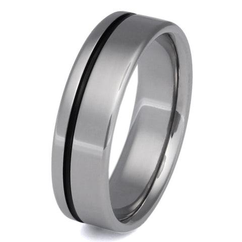 Black Titanium Ring bk2