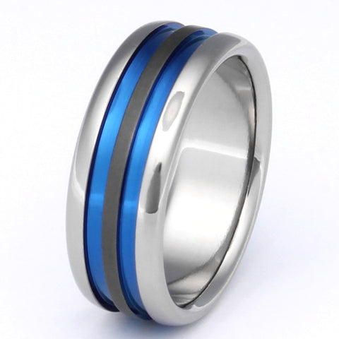 Sable Titanium Rings sa28