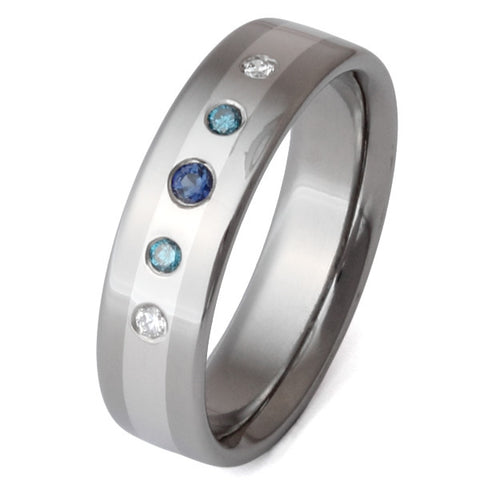titanium diamond ring s4 Titanium Wedding and Engagement Rings