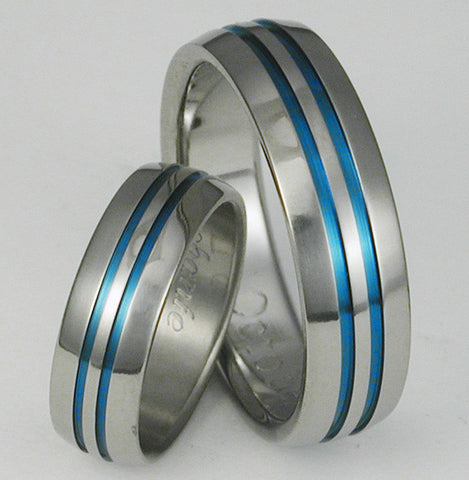 matching titanium wedding band set stb1 Titanium Wedding and Engagement Rings
