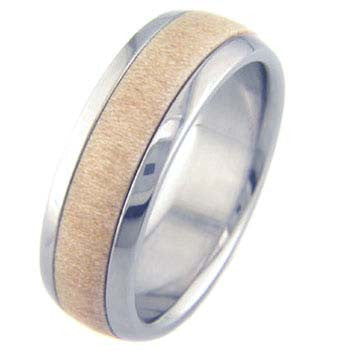 birch Titanium Wedding and Engagement Rings