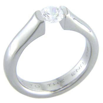 fusion Titanium Wedding and Engagement Rings