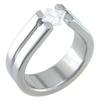 harmony Titanium Wedding and Engagement Rings
