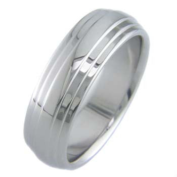 Boone Titanium Ring - Multi Step