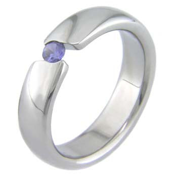 s curves Titanium Wedding and Engagement Rings