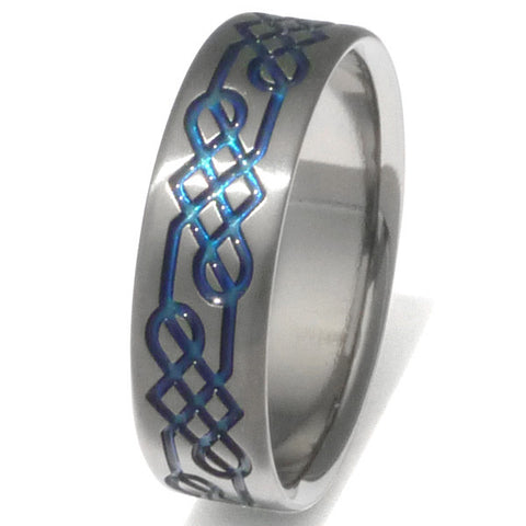 titanium irish celtic wedding rings ck16 Titanium Wedding and Engagement Rings