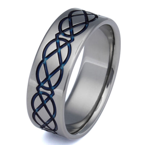titanium irish celtic promise rings ck2 Titanium Wedding and Engagement Rings