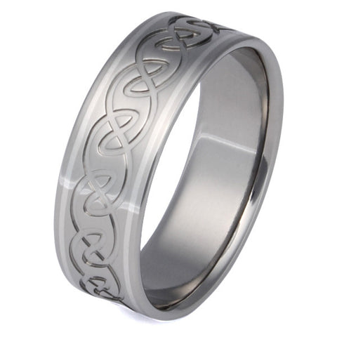 titanium irish celtic wedding rings ck20 Titanium Wedding and Engagement Rings