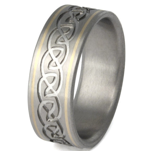 titanium irish celtic wedding rings ck21 Titanium Wedding and Engagement Rings