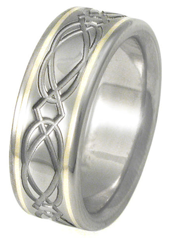 titanium irish celtic wedding rings ck23 Titanium Wedding and Engagement Rings