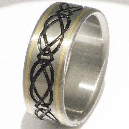 titanium irish celtic wedding rings ck24 titanium wedding and engagement rings - Irish Wedding Ring