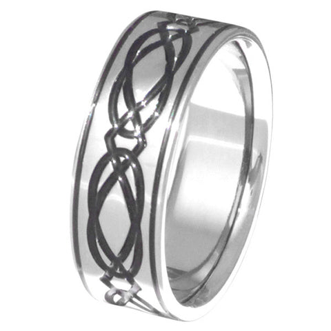 titanium irish celtic promise rings ck36 Titanium Wedding and Engagement Rings