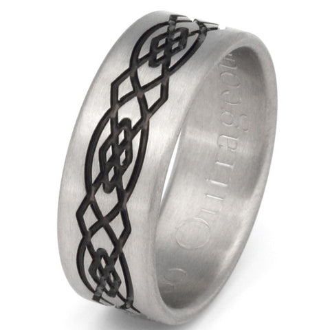 titanium celtic ring ck46 Titanium Wedding and Engagement Rings