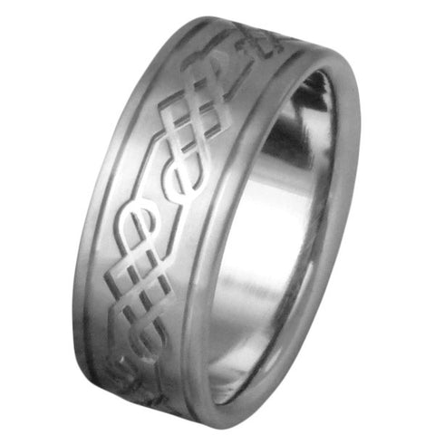 titanium irish celtic wedding rings ck53 Titanium Wedding and Engagement Rings