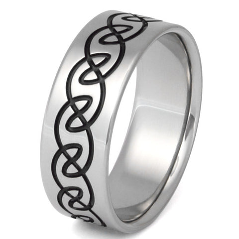 titanium celtic rings ck14 Titanium Wedding and Engagement Rings